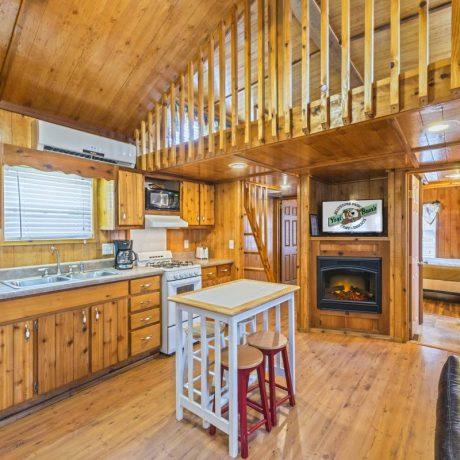 Yogi Bear Cabin Interior