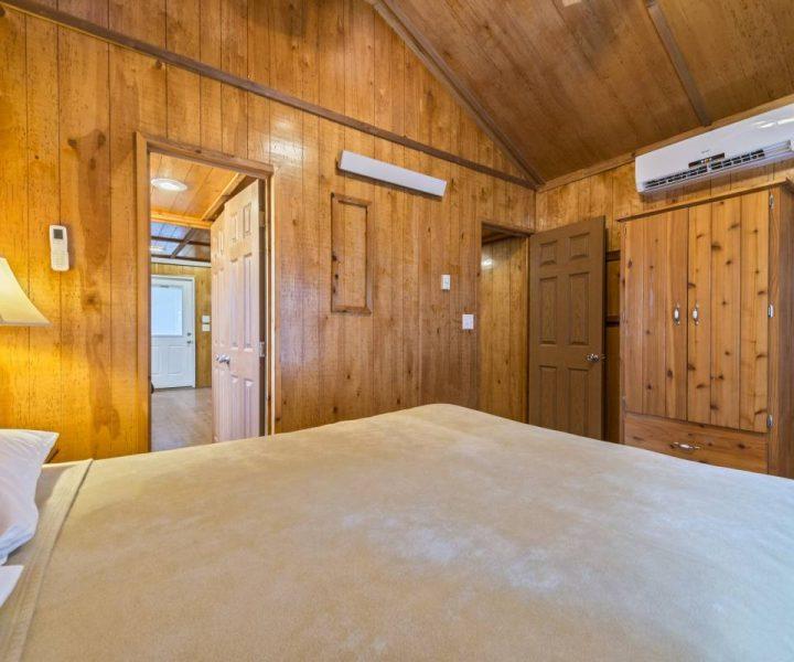 Yogi Bear Cabin Bedroom