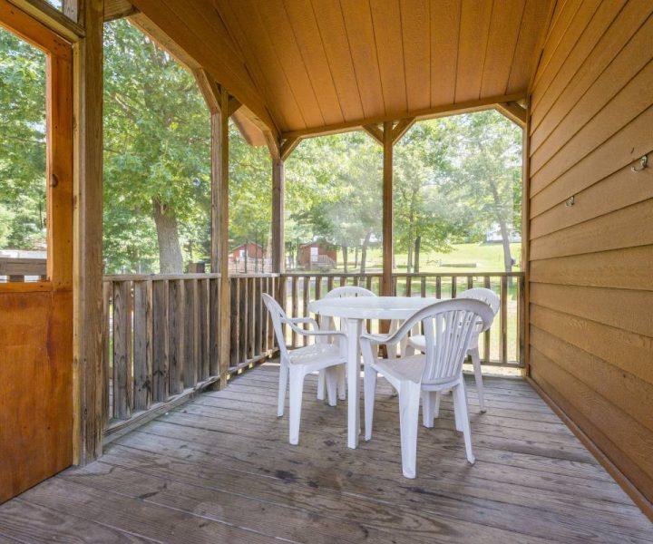 Yogi Bear Cabin Porch