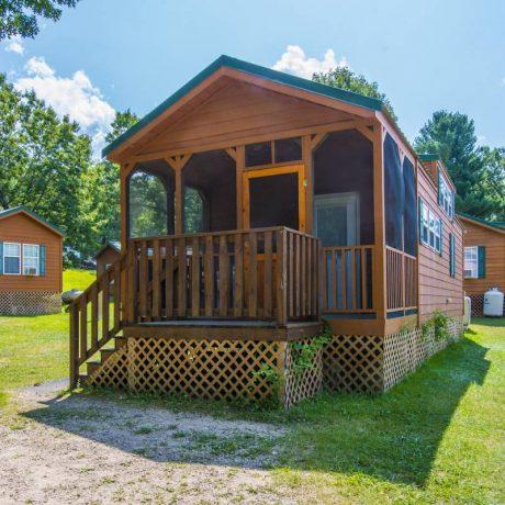 Yogi Bear Cabin Exterior