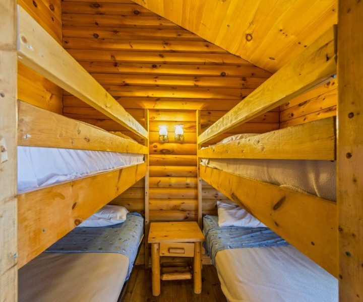 Deluxe Camping Cabin Beds