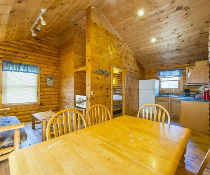 Deluxe Camping Cabin