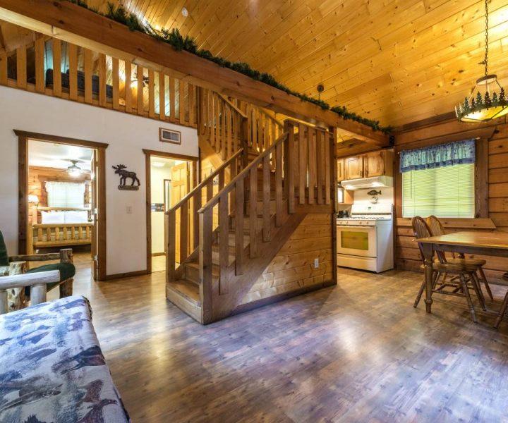 Jellystone Warrens Cabin Villa Interior